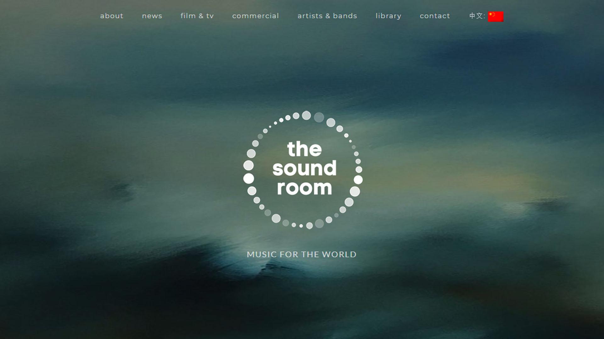 Soundroom.co.nz - website