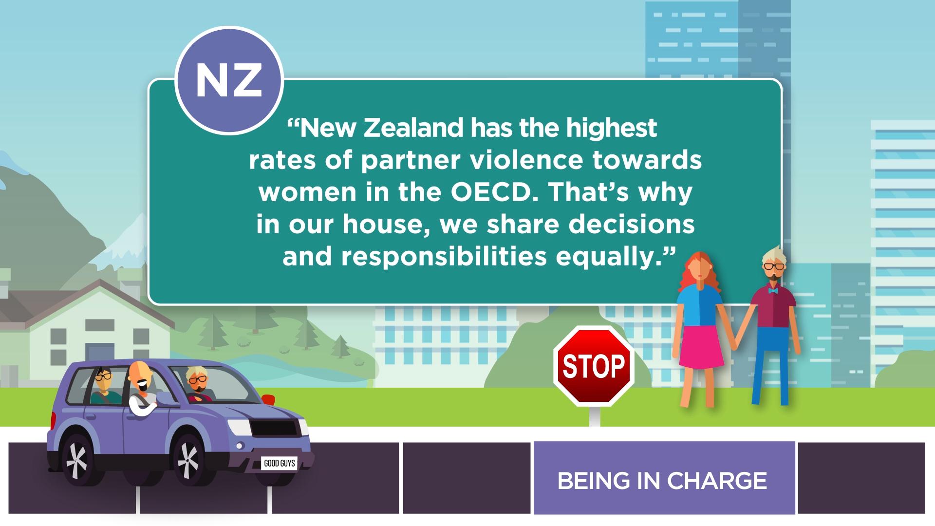 Gender Equal NZ Storyboard